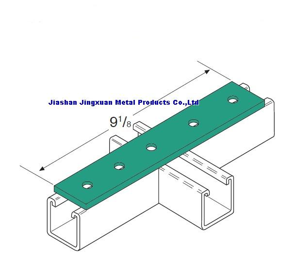 5 hole splice plate channel fittings plat plate fittings for A shear pleasure pet salon